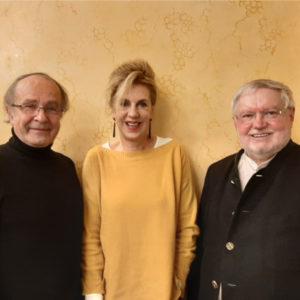Im Anschluss referierten und diskutierten Prof. Dr. Barbara Vinken und Anselm Bilgri im Rahmen der Reihe Religion kontrovers.